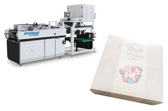 ZK-5540WL Shoe Box Making Machine , Paper Carton Box Making Machine